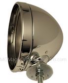 Headlight, Housing Bucket, Gazelle / SSK / MG Replica Size (Each) Chrome