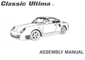 Assembly Manual, 359 Ultima by Classic Motor Carriages