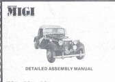 Assembly Manual, Daytona MIGI (VW or Chevy)