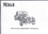 Assembly Manual, Daytona MIGI (VW or Chevy)