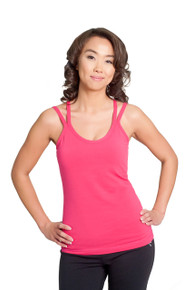 Hot Cross Tank - Deep Pink