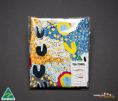 6876 TEA TOWEL ROSIE LALA