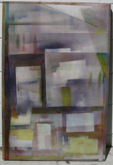 evidence of city life 36 x 24 mixed media on panel