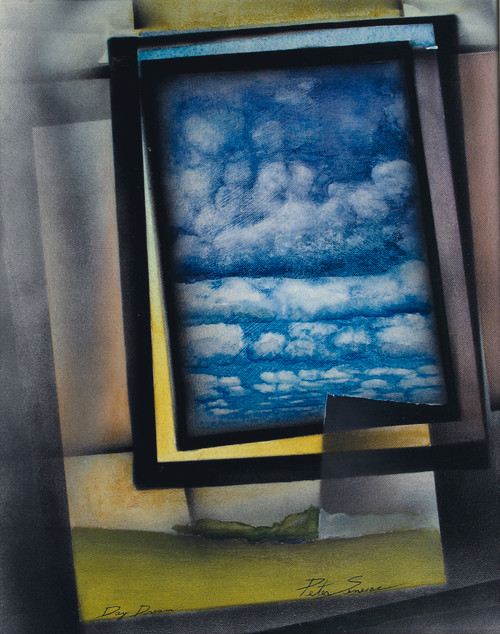 Painting of 'Day Dreams' in Mixed Media on Canvas