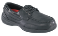 ESD, Men's Black Boat Shoe, STEEL TOE