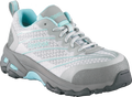 Grey & Teal Athletic Oxford, Comp Toe