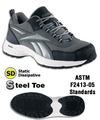 Steel Toe ESD Athletic ESD Crosstrainer - Men's