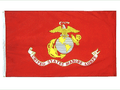 UNITED STATES MARINE CORPS 3ft x 5ft Nylon 1 ply Flag with GROMMETS