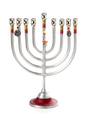 Lily Art Large Metal Menorah -- 13""