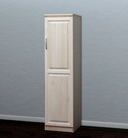 Raised Panel Closet, w/ 1 Door (Opens Left to Right)