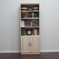 "Raised Panel Wall Unit with 2 Doors 16"" Deep"