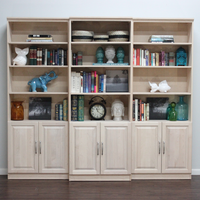 Raised Panel Wall Unit Set with Doors