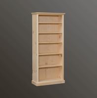 American Pride Five Shelf Bookcase