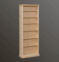 American Pride 6 Shelf Bookcase