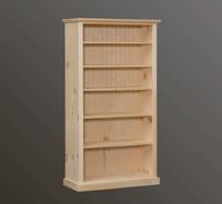 """American Pride Five Shelf Bookcase (38"""" Wide)"""