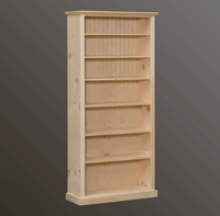"American Pride Six Shelf Bookcase (38"" Wide)"