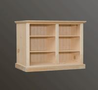 """American Pride Four Shelf Bookcase (50"""" Wide)"""