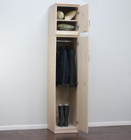 Flat Iron Slim Wardrobe and Storage (right side)