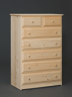 Riverdale Beveled Edge With Seven Drawer Chest