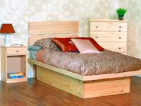 Platform Bedroom Set, Twin