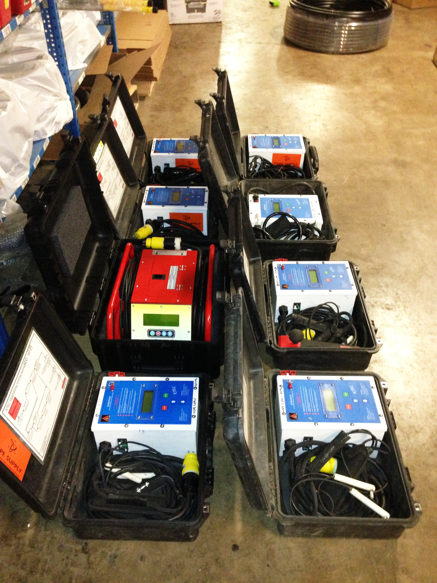 hdpe fusion machine rental rates