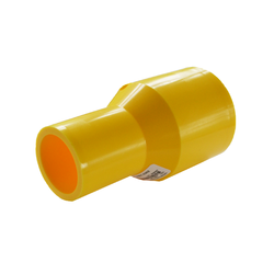 Yellow Gas Butt Fusion Reducer MDPE PE2708