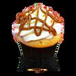 Caramel cake with vanilla buttercream topped with dulce de leche caramel