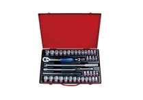 "SOCKET SET 1/2""drive Professional 42pc King Tony"
