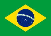 Brazil Courtesy Flag