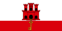 Gibraltar Courtesy Flag