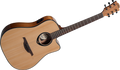 LAG T66DCE Standard Range Dreadnought Cutaway Acoustic-Electric Guitar