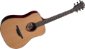 Lag Tramontane T100D Dreadnought Acoustic Guitar - Natural