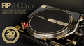 Reloop RP7000 GLD Limited Edition 20th Anniversary Gold & Black Professional Turntable