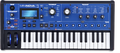 Novation Mininova 25 key mini keyboard synthesizer with drum sampler pads