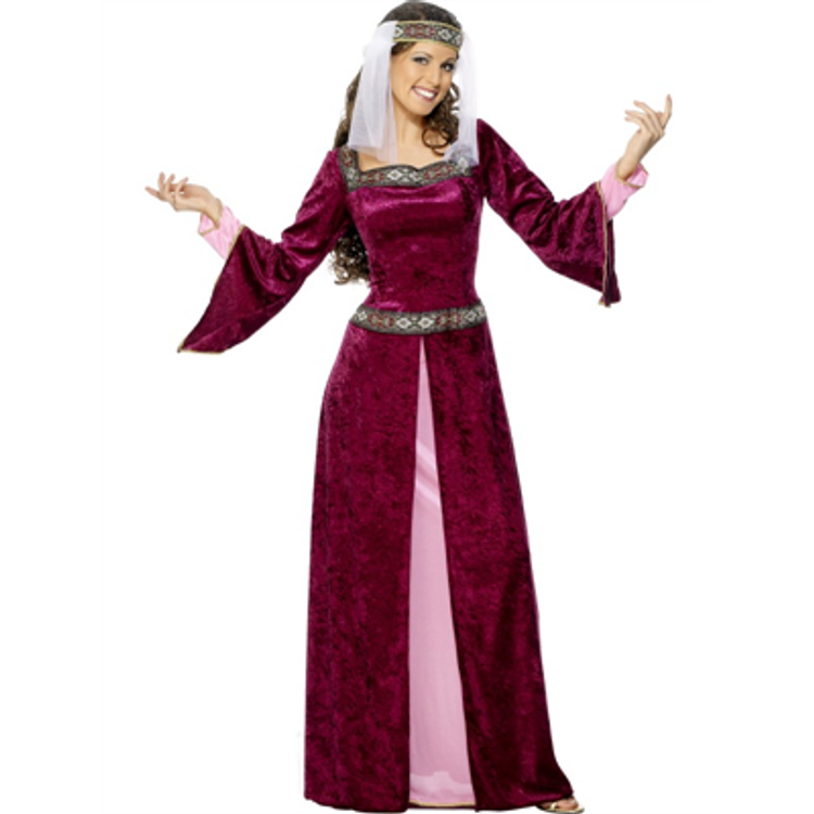 Medieval   Maid Marion Womens Costume