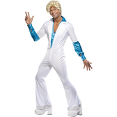 ABBA 1970s Disco Mens Costume