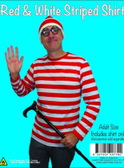 Wheres Wally / French Adults Shirt