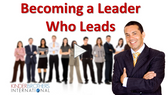 Becoming a Leader Who Leads - Video