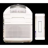 Heath/Zenith SL-7744-02 Affordable Wireless Doorbell Strobe Chime