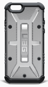 UAG Ash Case iPhone 6/6S - Grey/Black