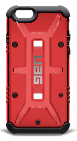 UAG Magma Case iPhone 6/6S - Red/Black