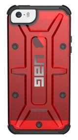 UAG Magma Case iPhone 5S/SE - Red/Black
