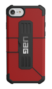 UAG Metropolis Folio Wallet Case iPhone 7 - Magma