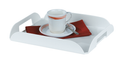 Coffee Tray (White) - 6 pack