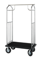 Value Valet Bellman's Cart- Hammertone Finish- Wholesale Hotel Products