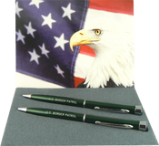 Garland U.S. Border Patrol Pen & Pencil Set