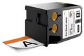 Dymo XLT Pre-Sized Safety Labels 51x102mm - ORANGE