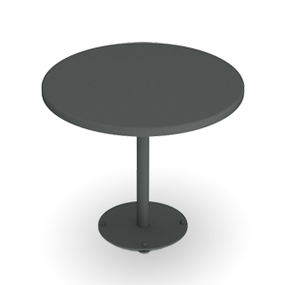 CityView Pedestal Table