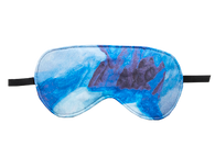 Filled Eye Mask - Blue