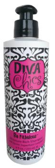 Diva Chics Be Fabulous Moisture-Rich Shampoo 8 oz - beautystoredepot.com